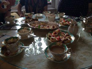 Afternoon tea at Laurel Villa