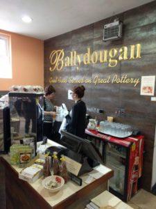 Dining at Ballydougan Pottery