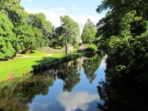 SIx Mile Water River at Antrim Castle Gardens
