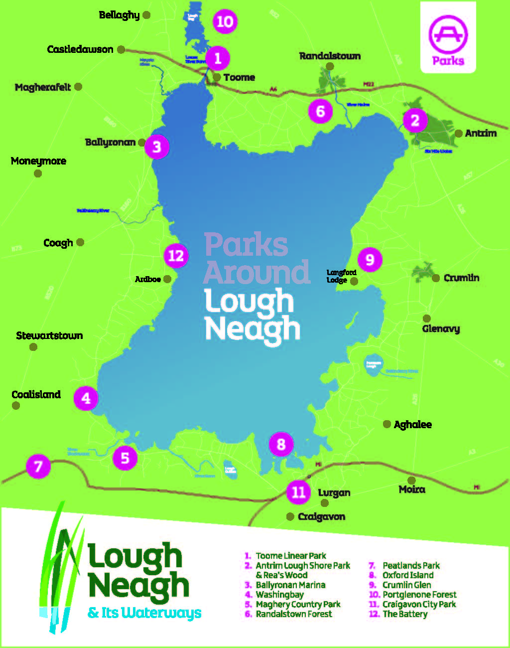 12 Great Picnic Sites Around Lough Neagh Discover Lough