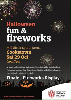 Halloween at Mid Ulster Sports Arena