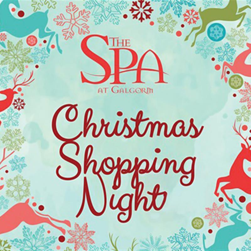 The Spa at Galgorm Christmas Shopping Night
